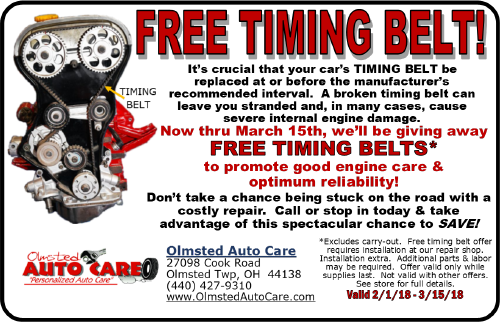 Timing Belts Olmsted Falls Ohio